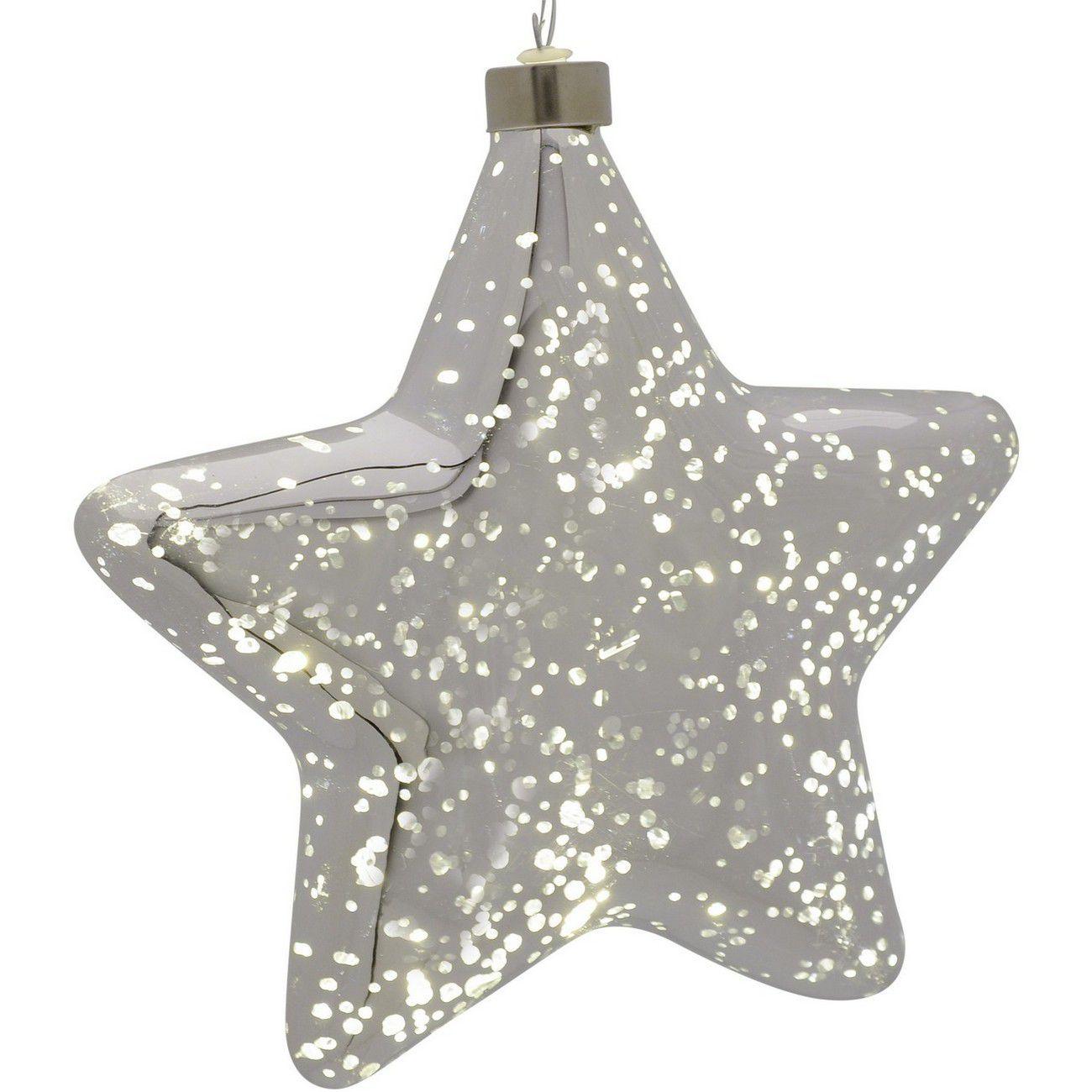 LED Silver Star - Xmas thumbnail