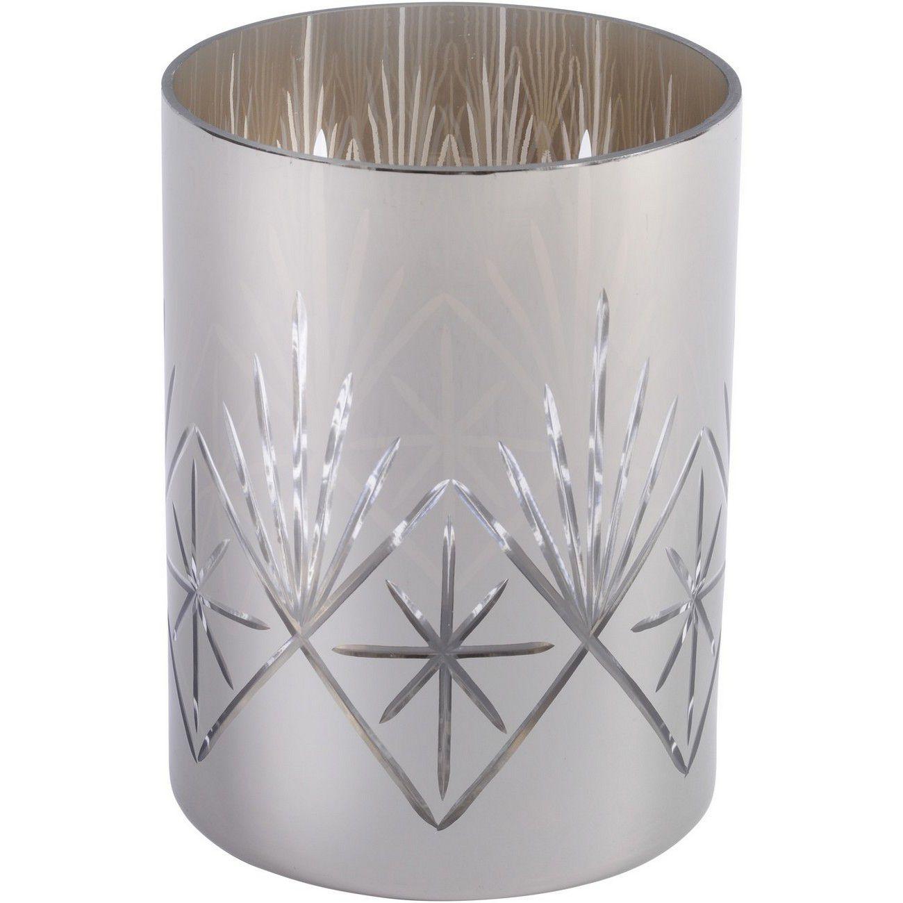 Large Metallic Silver Cut Hurricane thumbnail