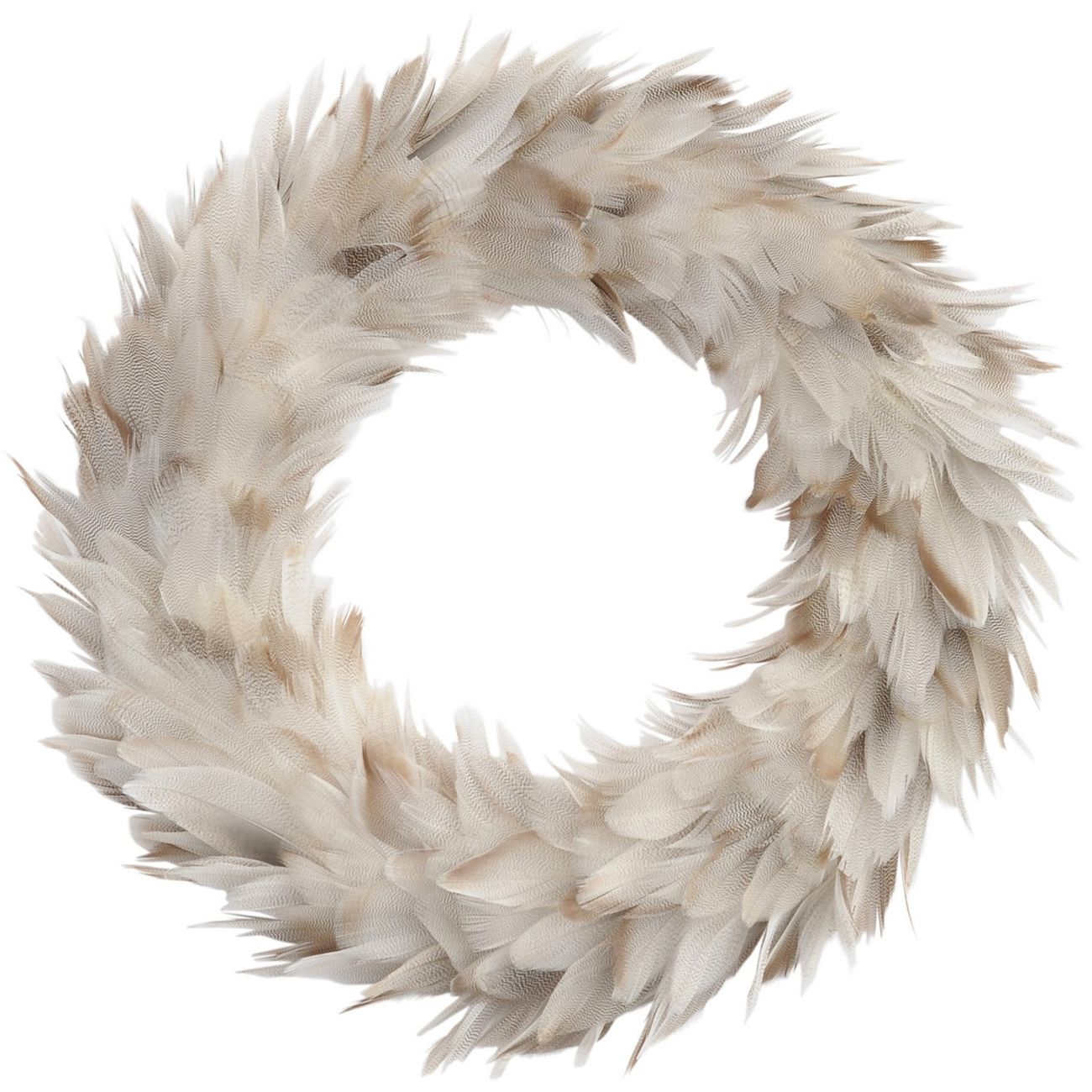 Feather Grey Large Wreath thumbnail