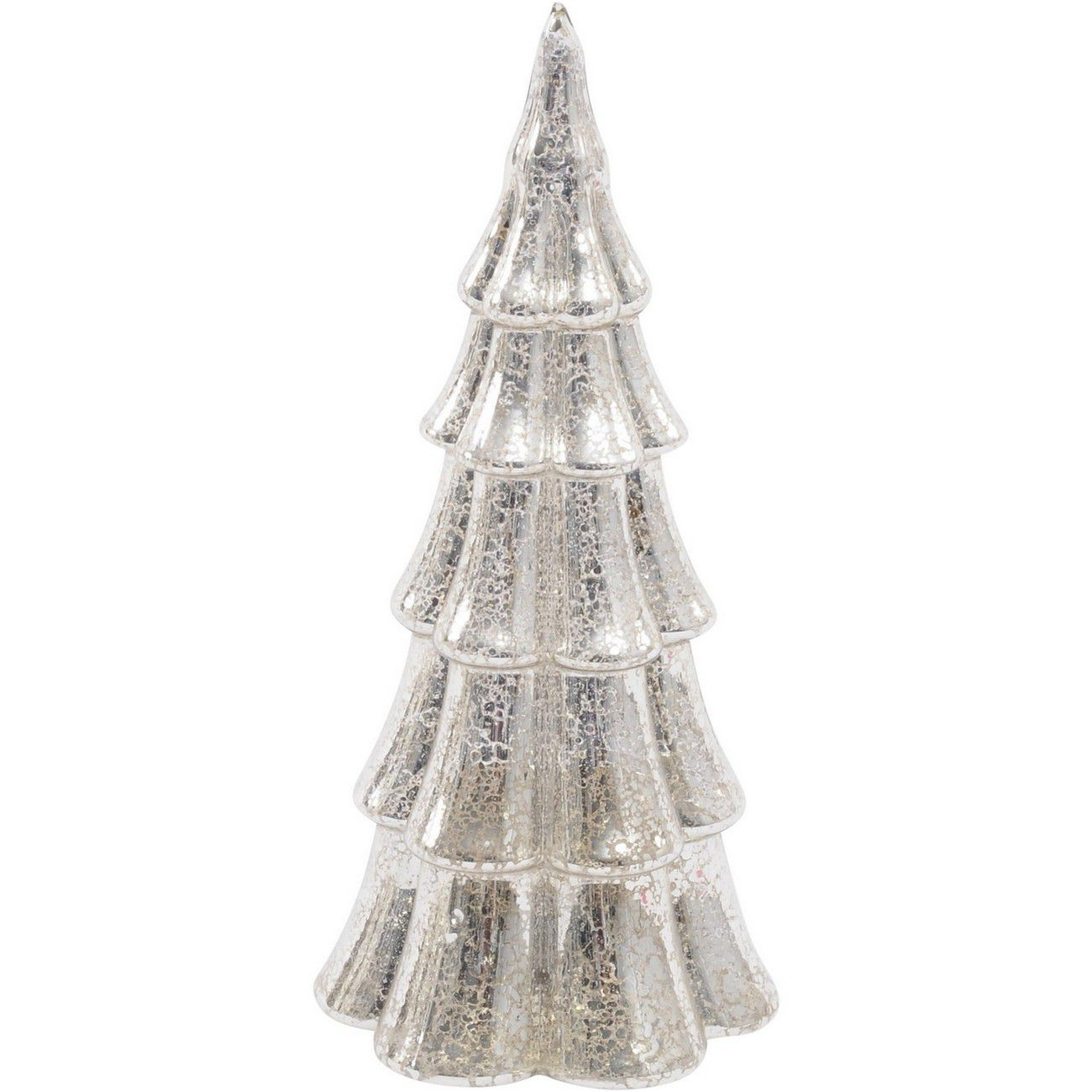 LED Medium Glass Mercury Tree - Xmas-20 thumbnail
