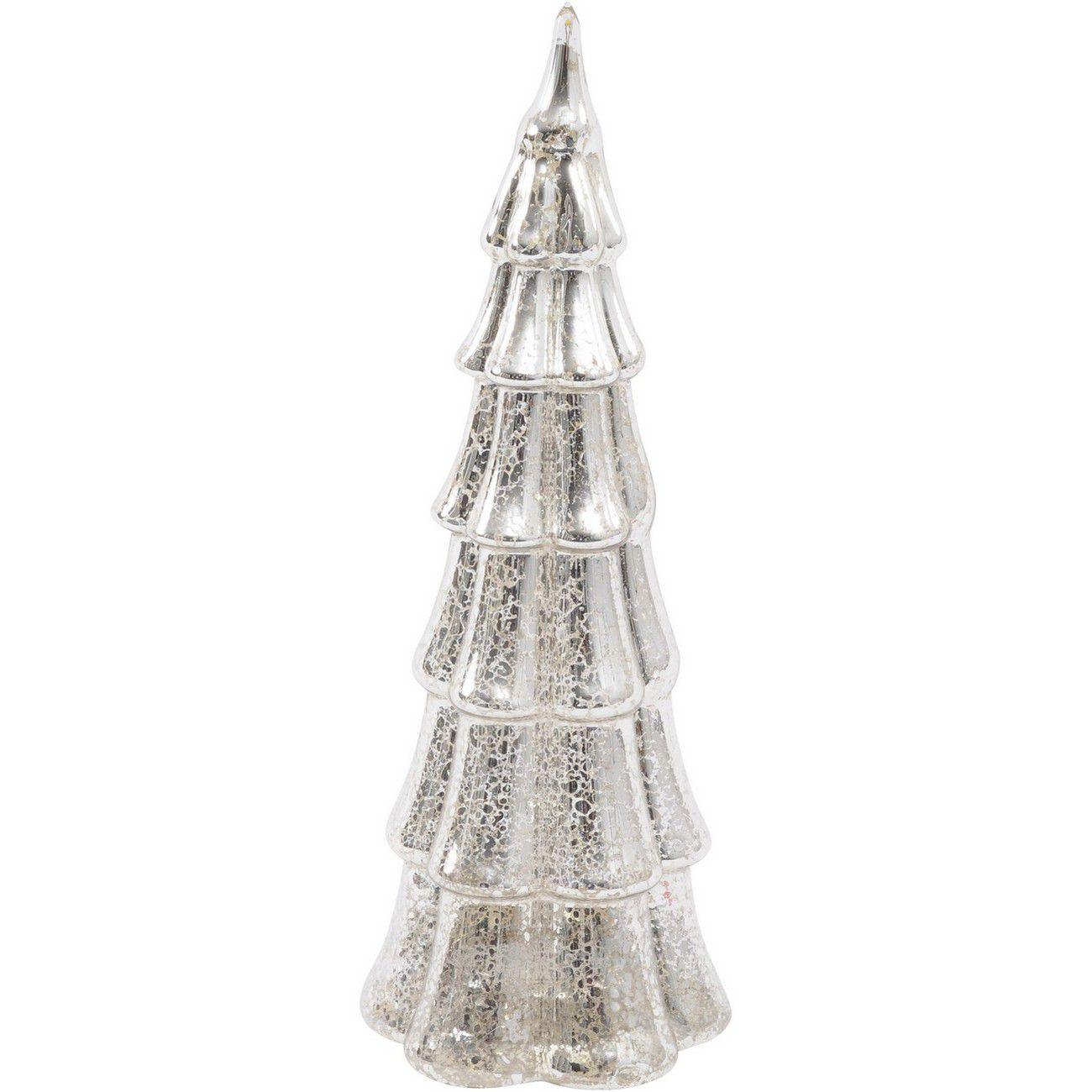 LED Large Glass Mercury Tree - Xmas-20 thumbnail