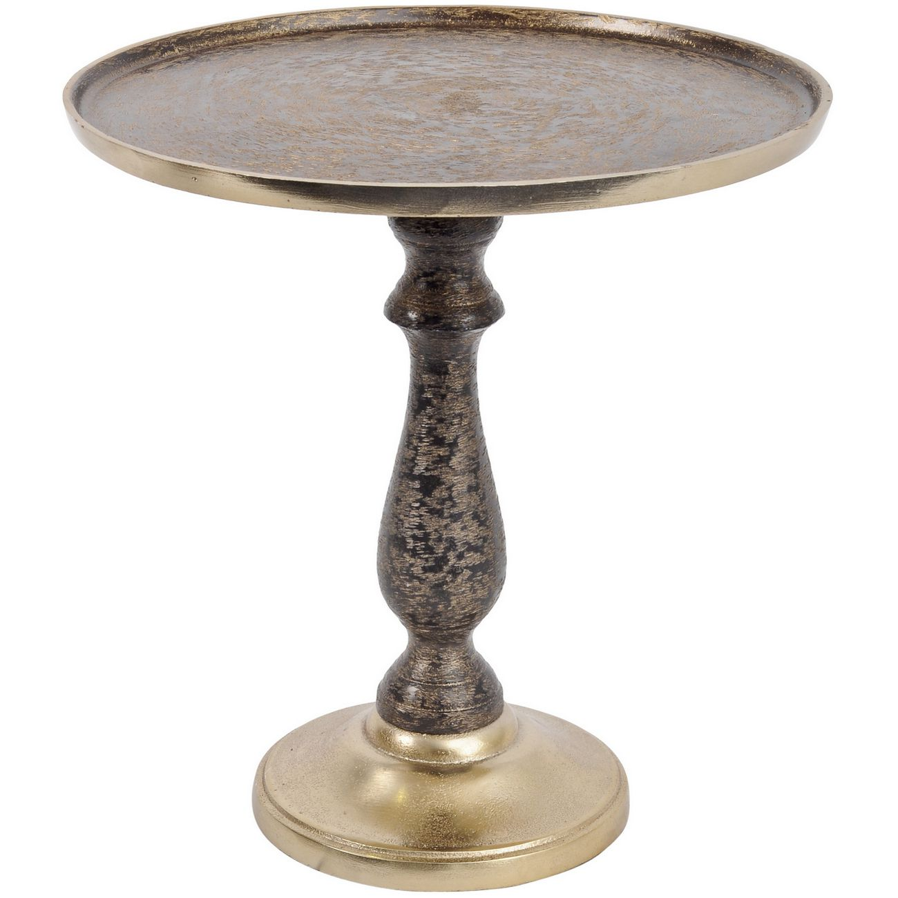 Brushed Gold Aluminium Footed Cake Stand thumbnail