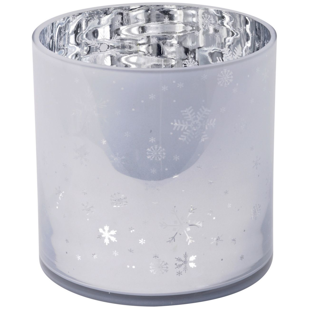 Festive Snowflake White And Silver Hurricane - Xmas thumbnail
