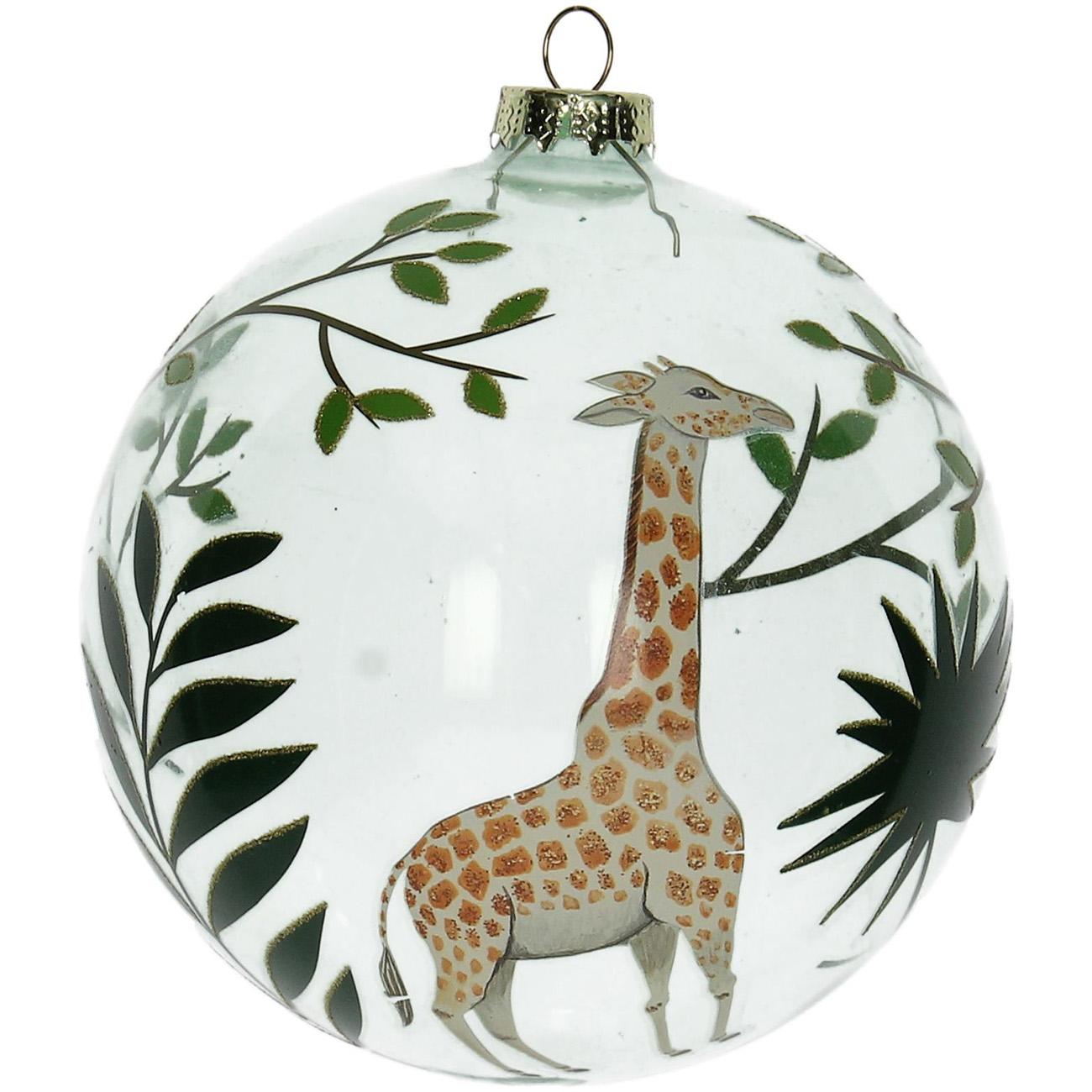 Giraffe Bauble 12cm - Xmas-20 thumbnail