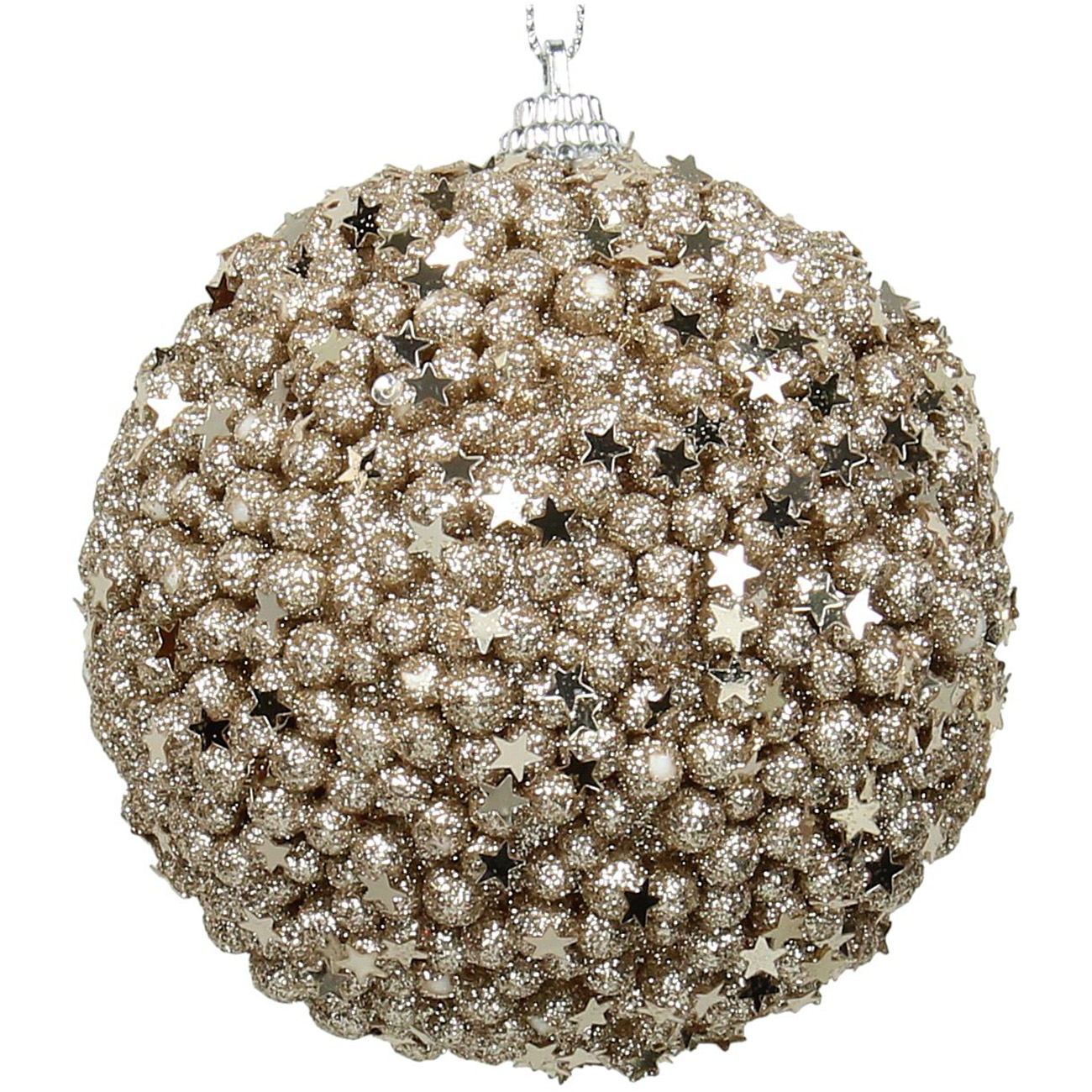 Champagne Ball Bauble 10cm - Xmas-20 thumbnail