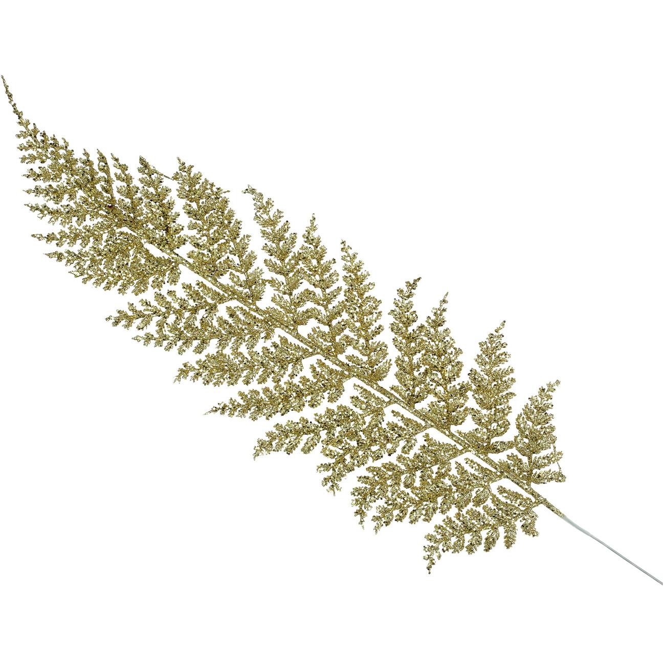 Gold Fern Leaf Ornament 44cm - Xmas-20 thumbnail
