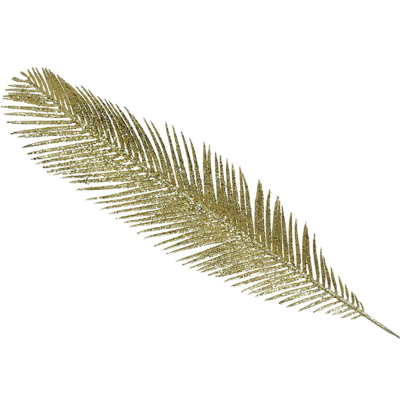 Gold Fine Palm Leaf Ornament 44cm - Xmas-20 thumbnail