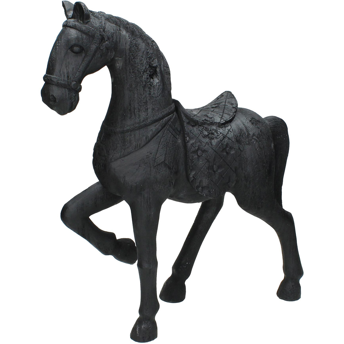 Black Horse Sculpture - Xmas-20 thumbnail