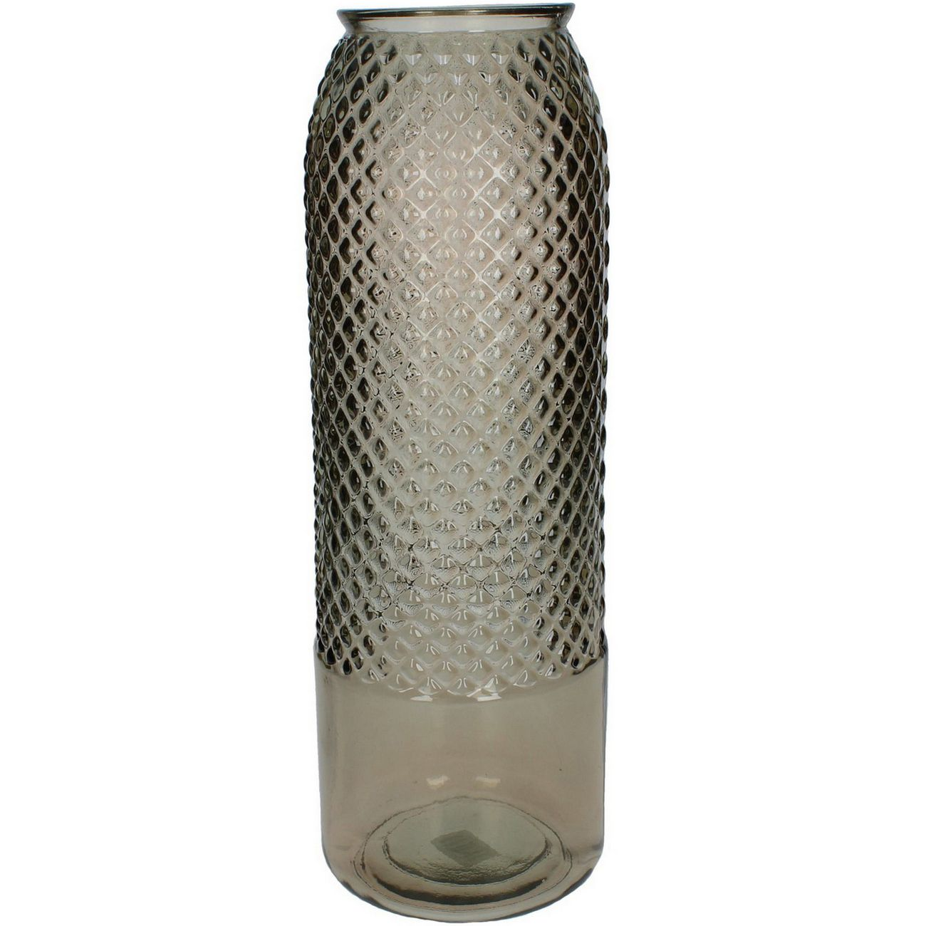 Atami Recycled Glass Tall Vase in Brown thumbnail