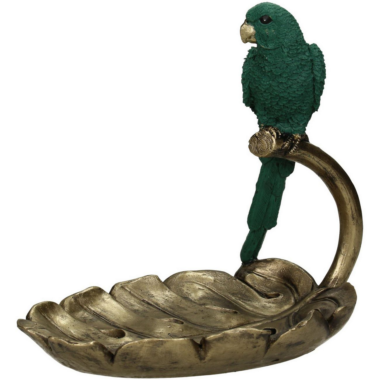 Carnaby Green Resin Parrot Trinket Dish thumbnail