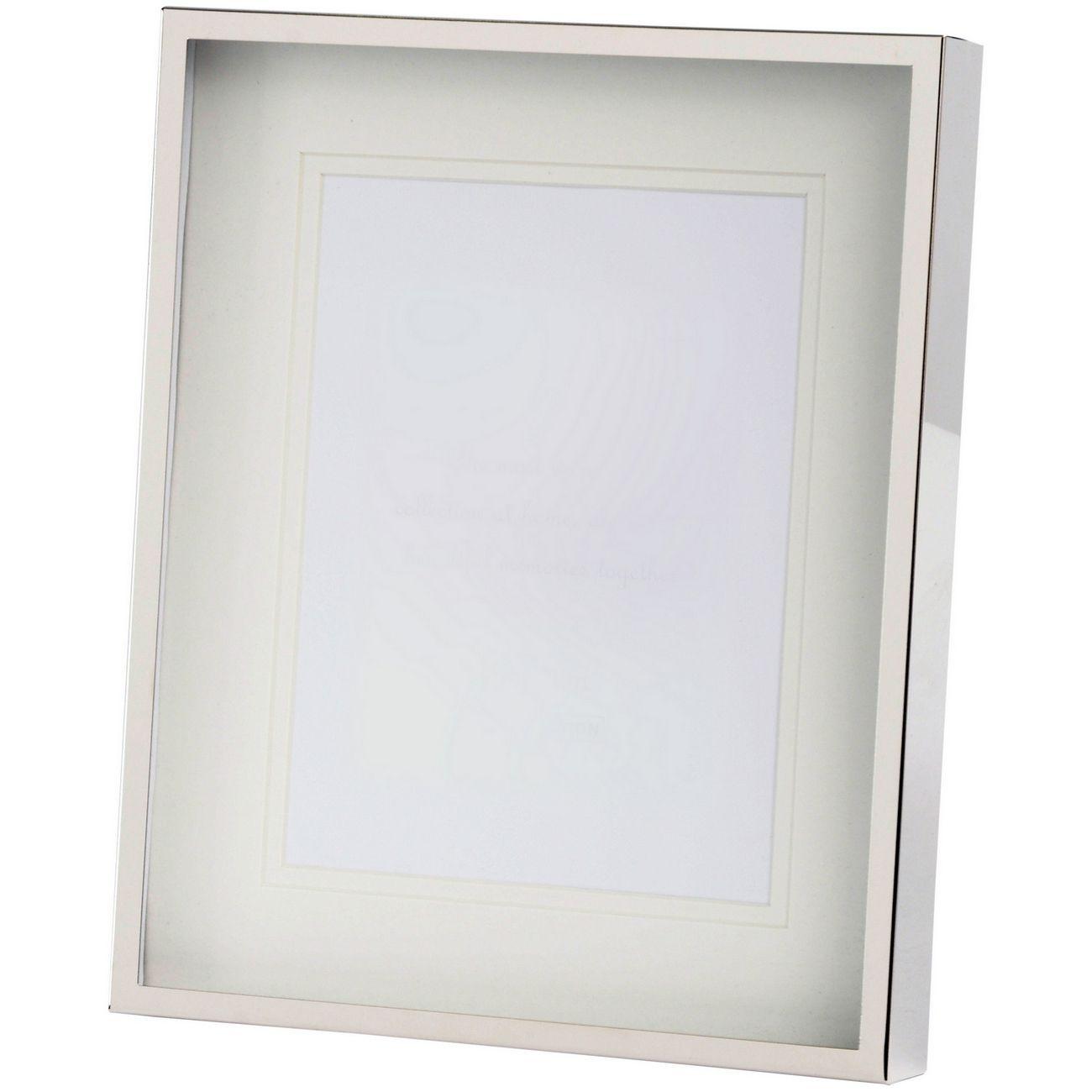 Belva 4x6 Inch Silver Photo Frame thumbnail