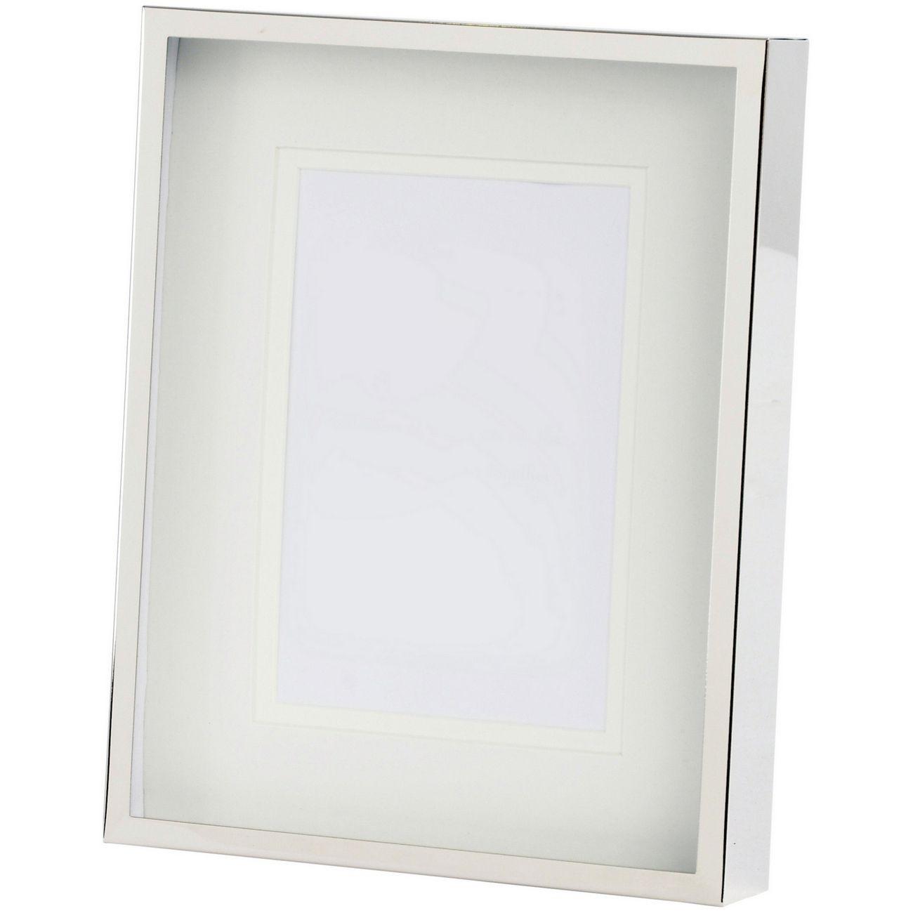 Belva 6x8 Inch Silver Photo Frame thumbnail