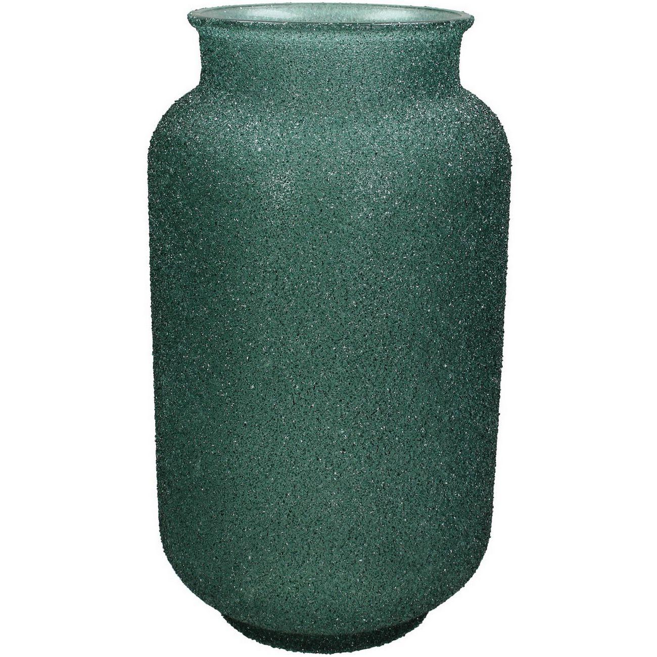 Adeline Green Textured Glass Vase Medium thumbnail