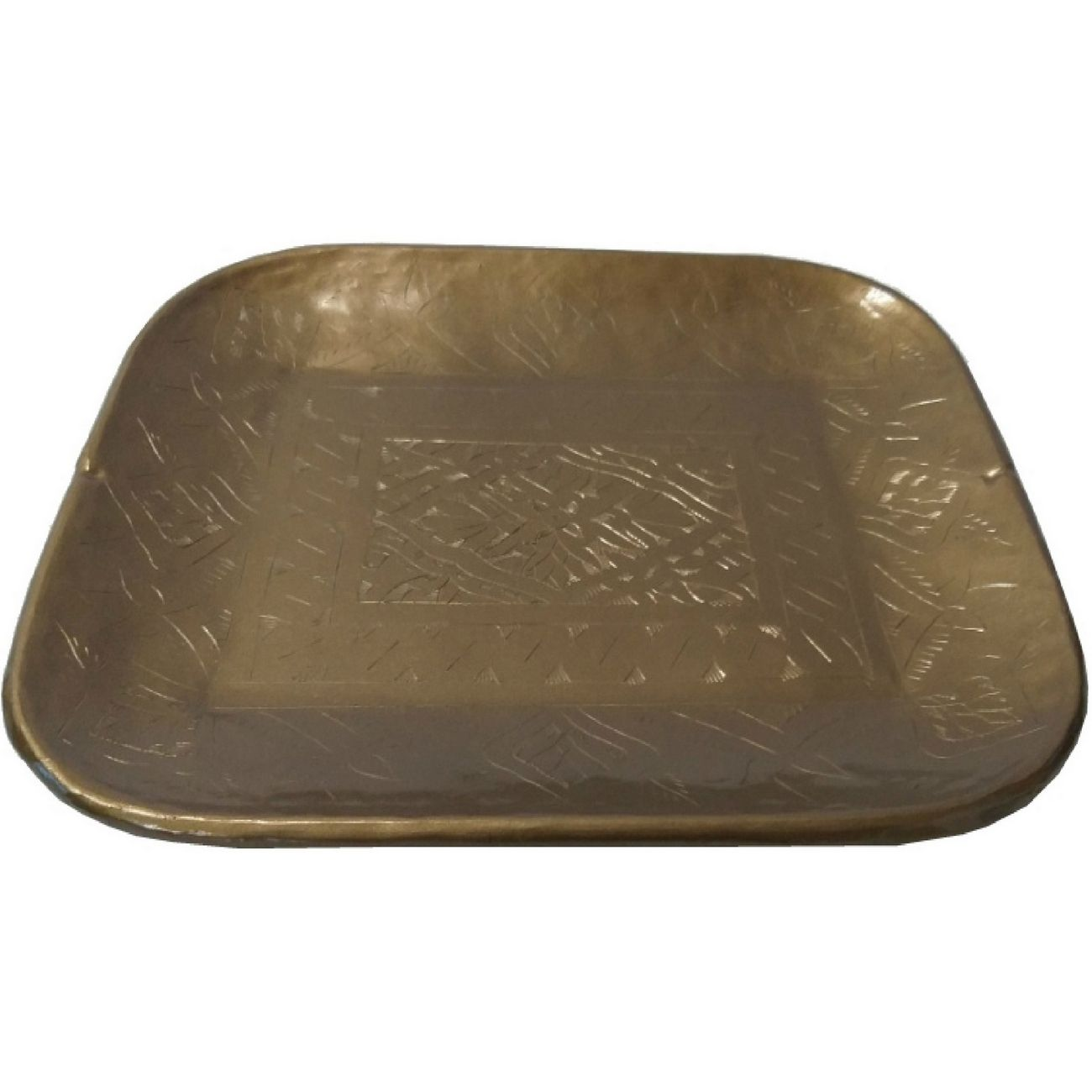 Etched Gold Tray Small thumbnail