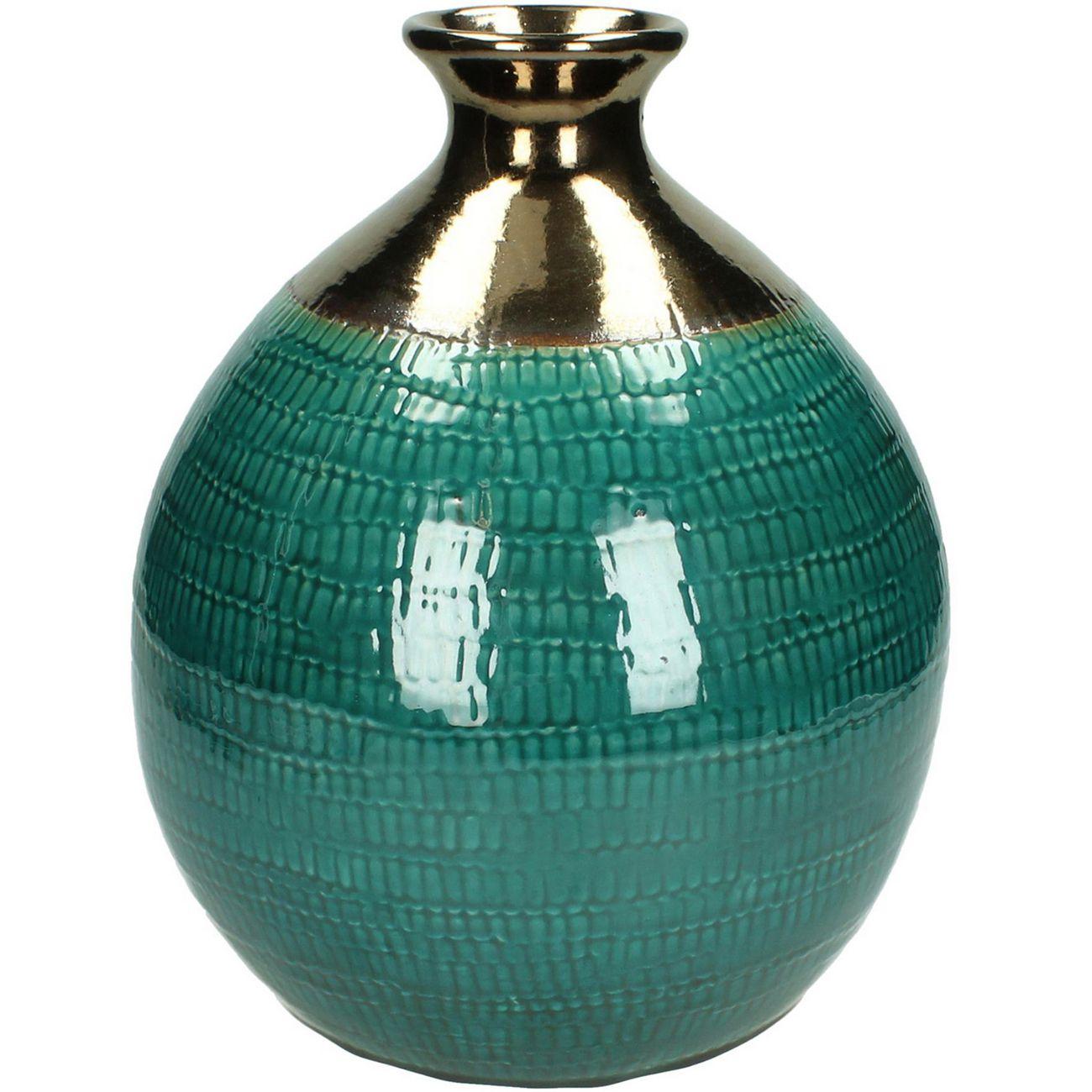 Azure Handmade Vase in Petrol thumbnail