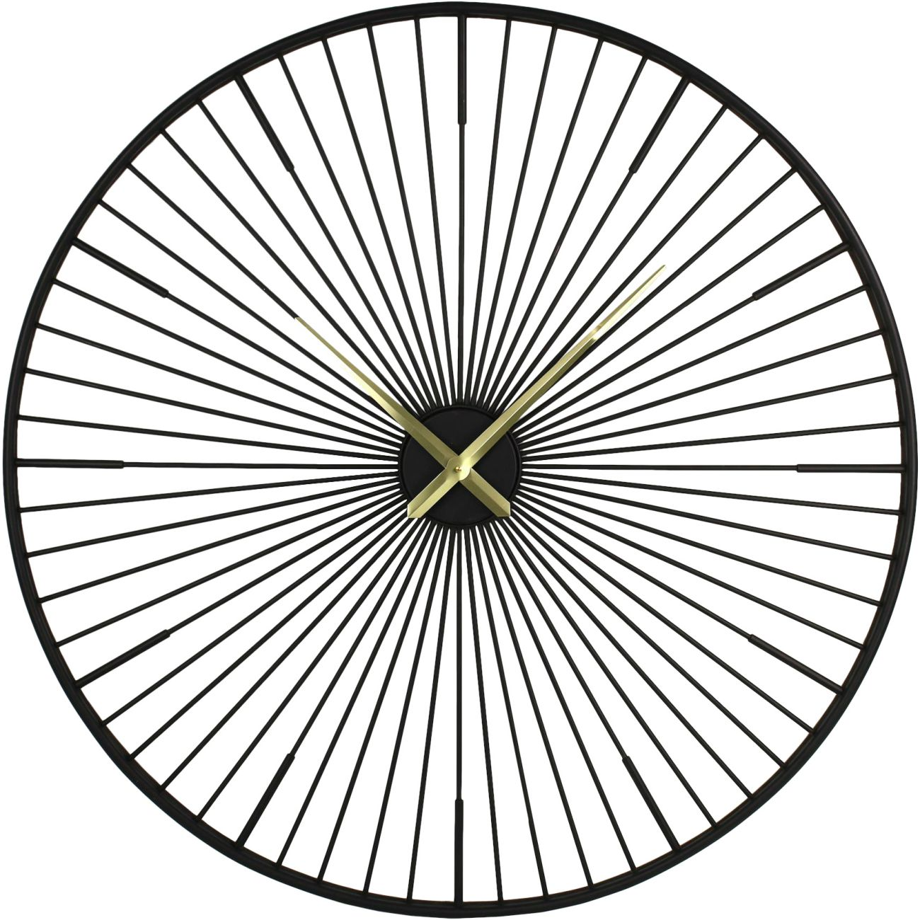 Turbine Metal Wall Clock thumbnail