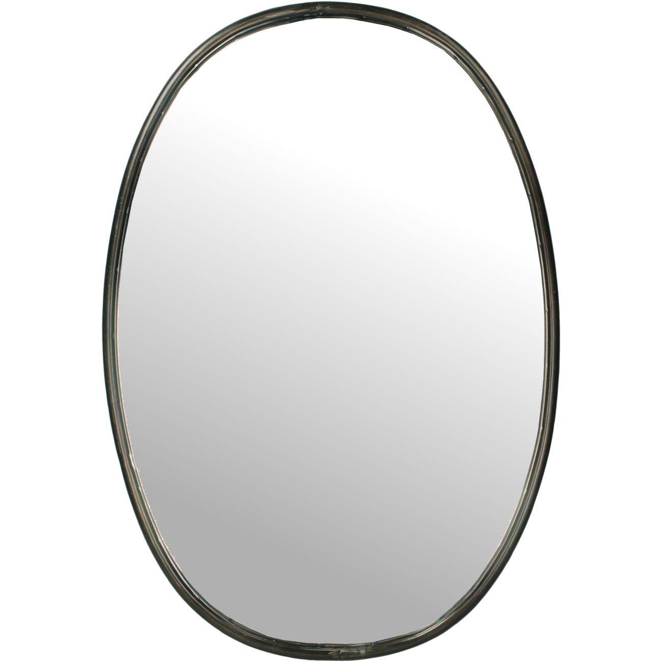 Greystoke Oval Mirror, 46x67cm thumbnail