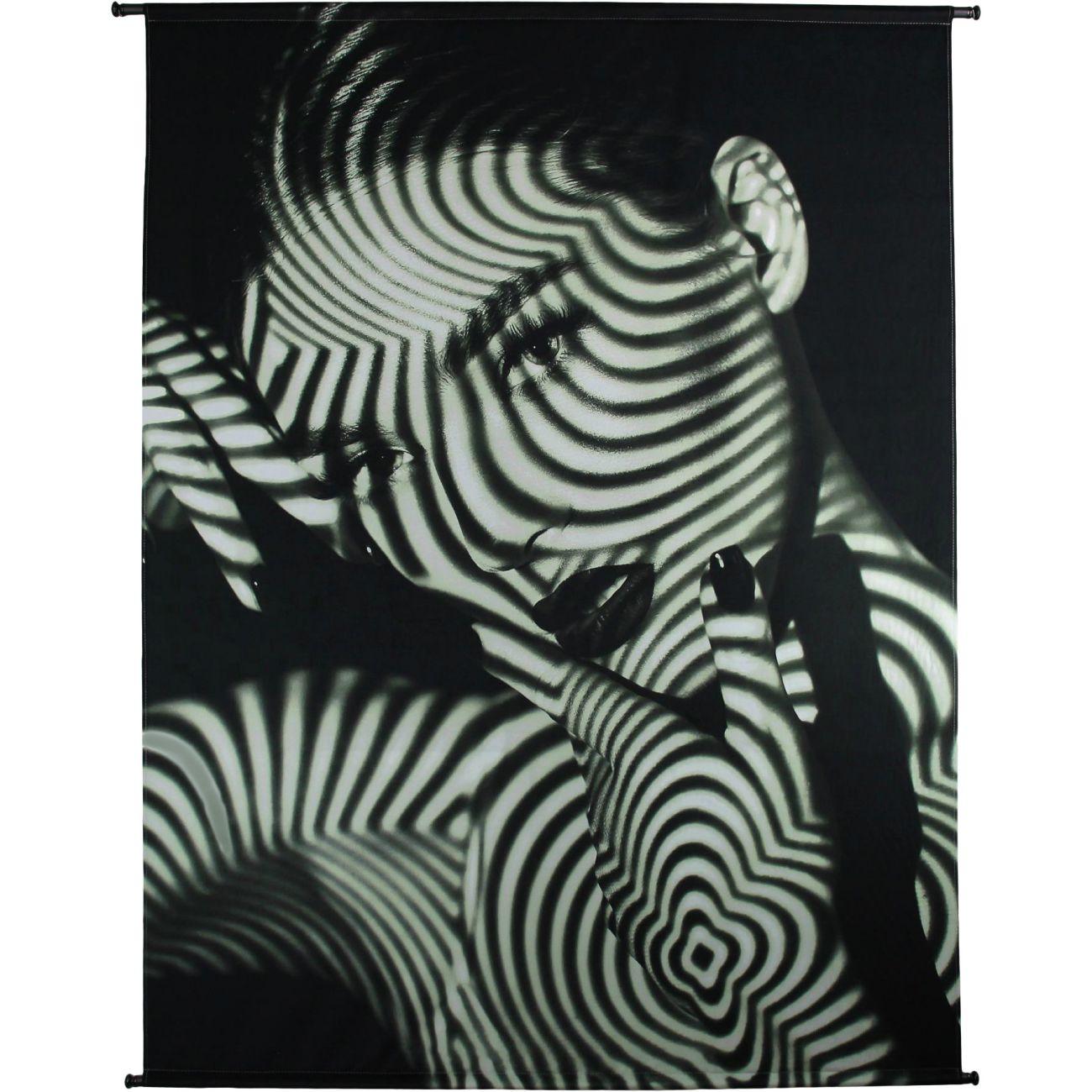 Tiger Lily Velvet Wall Art, 140x170cm thumbnail