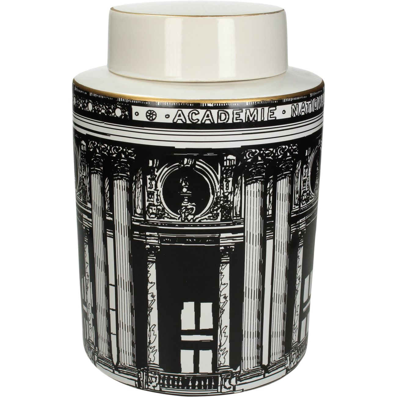 Architectural Ceramic Lidded Jar thumbnail