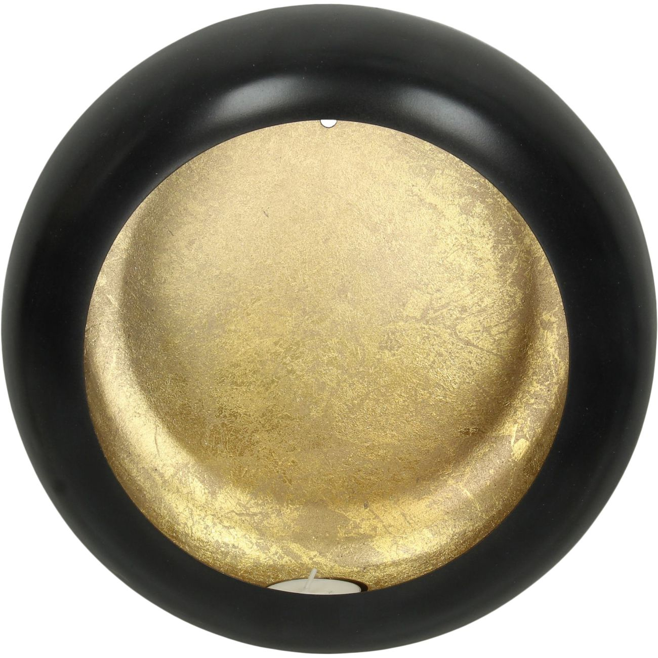 Alex Gold Disc Wall Sconce Small thumbnail