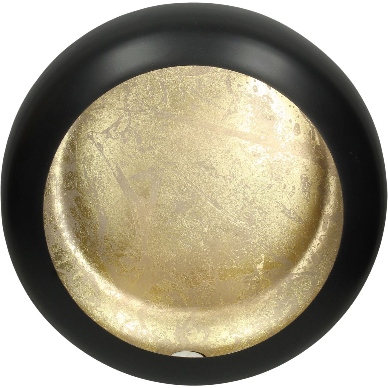 Alex Gold Disc Wall Sconce Large thumbnail