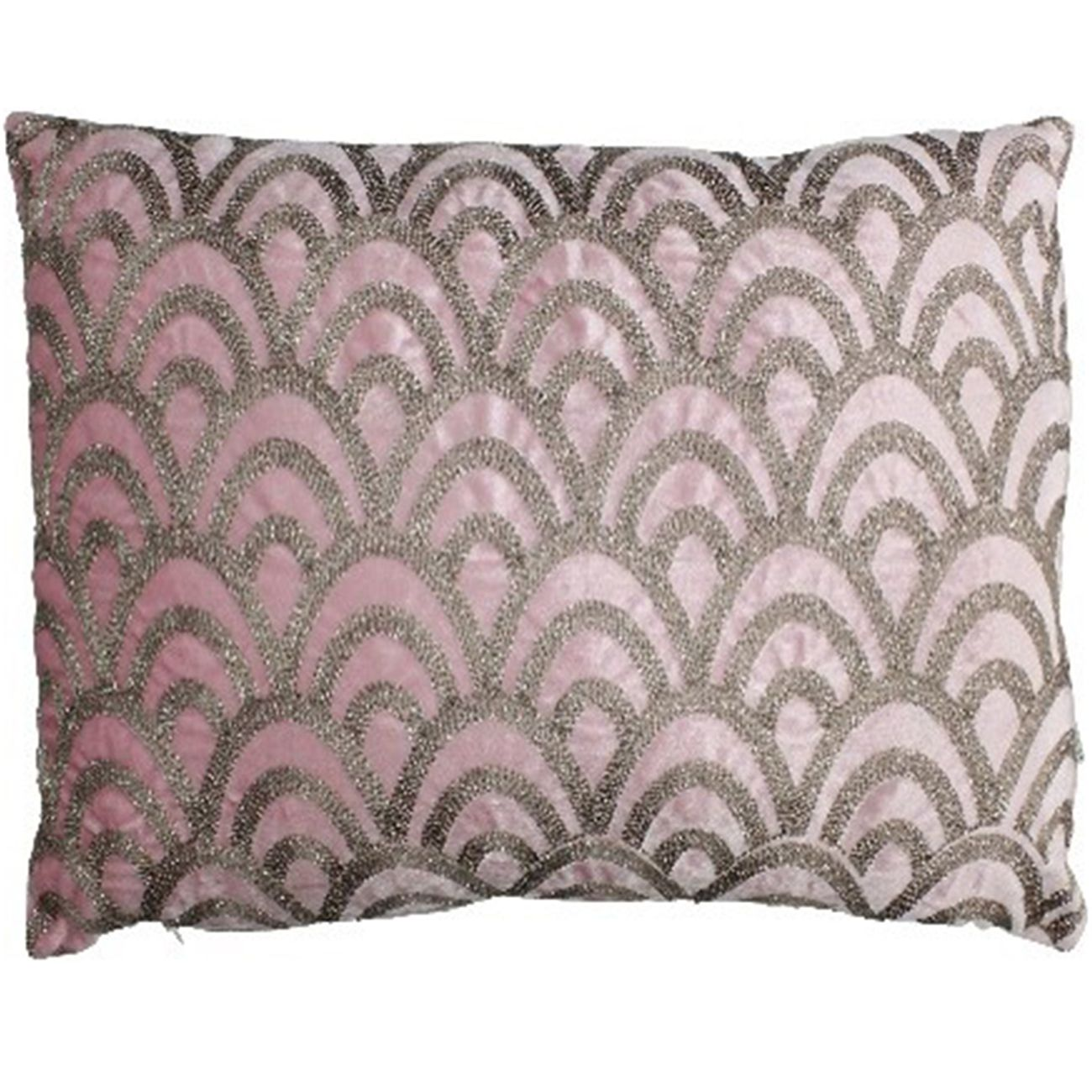 Cushion Cover Velvet Pink 40x60cm thumbnail