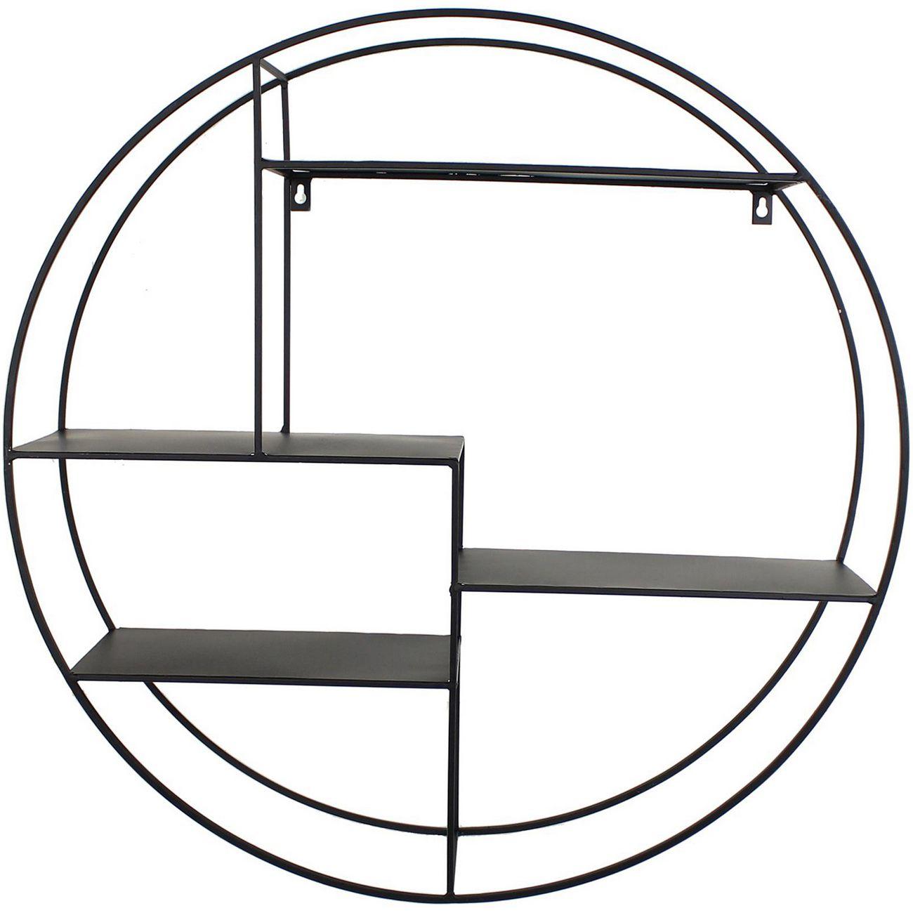 Cohan Wall Shelf in Black thumbnail